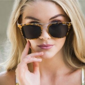 NWT Quay - Byron Tortoise Sunglasses